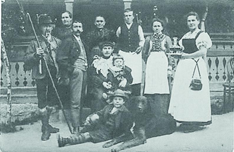 landhotel stern - tirol - familie foeger 1930