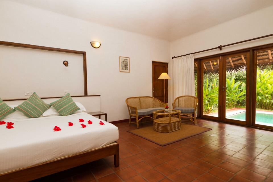 Marari Beach Room