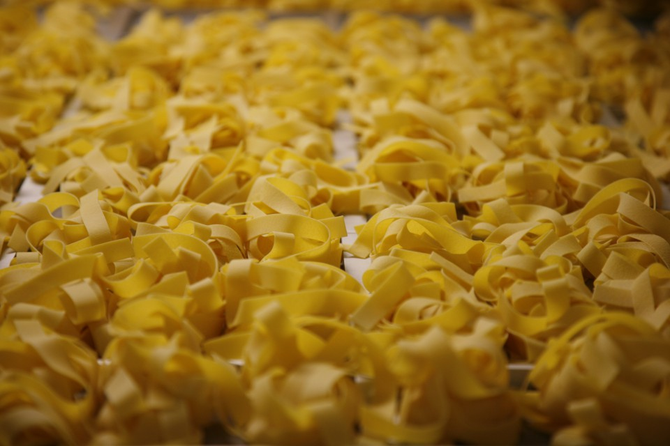 Barilla noodle produciton
