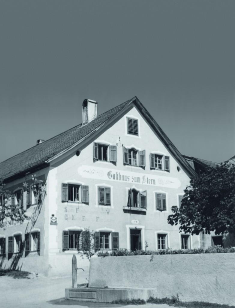 landhotel stern - tirol - alte ansicht 1907