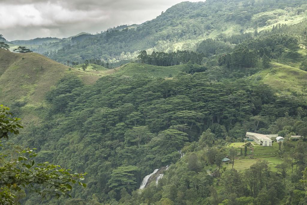 Hunas Falls by Amaya, Elkaduwa, Sri Lanka