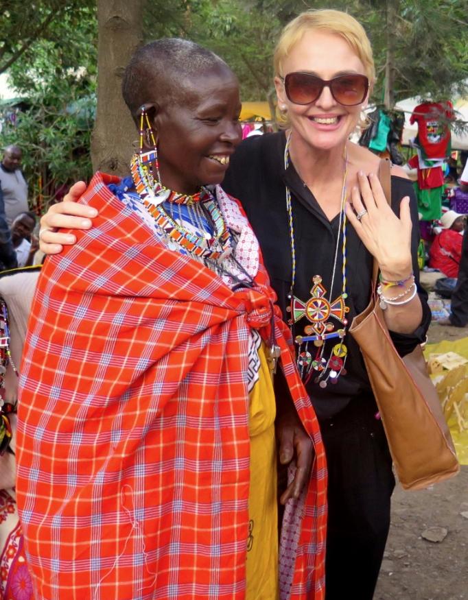 Dawn Jorgensen, Kenya, Nairobi Masai Lady