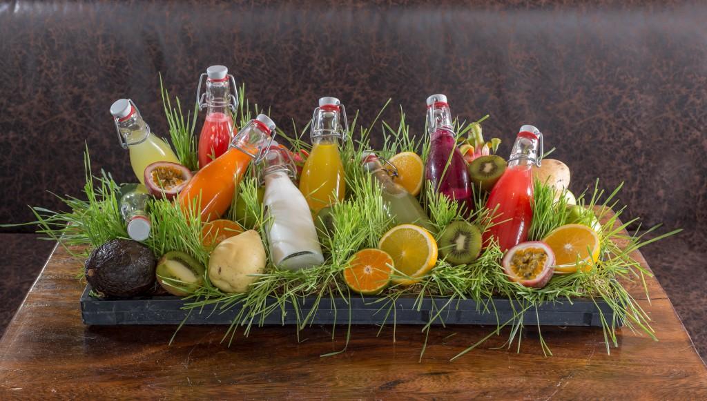 Freshly Squeezed Fruit & Veggie Juices