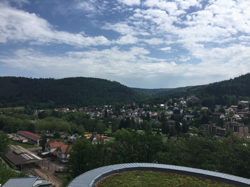Schwarzwald Panorama Bad Herrenalb