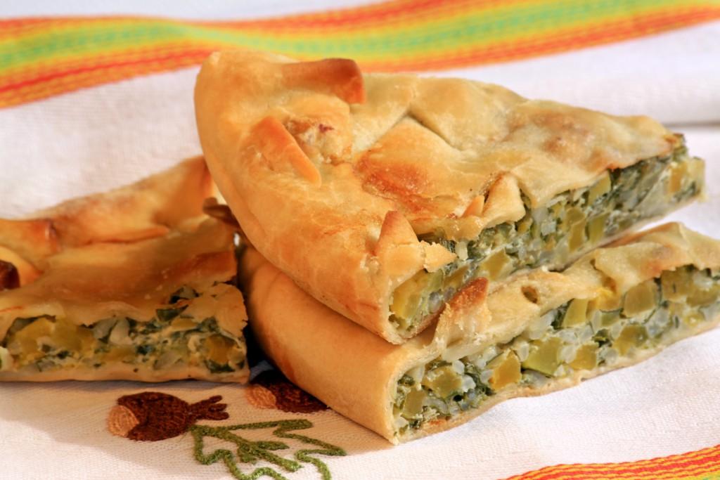 Zucchini tarte - Relais del Maro
