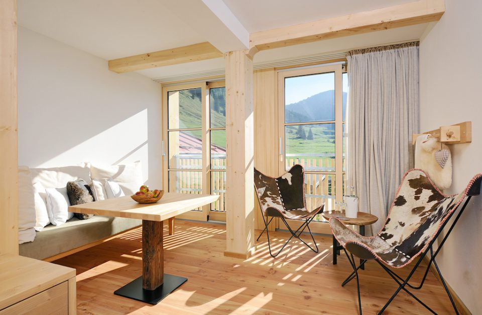 Hubertus Alpin Lodge & Spa Style
