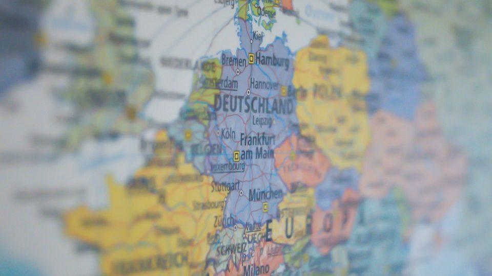 Map Deutschland