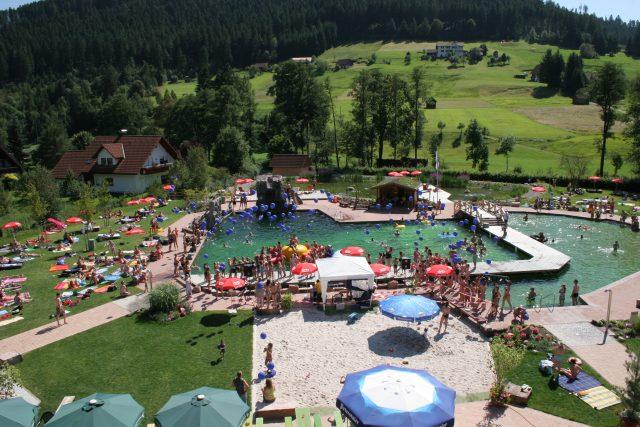 Das Naturbad in Mitteltal