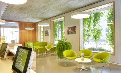 Green City Hotel Vauban, Lounge