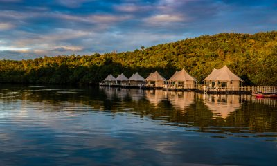 Glamping at 4 Rivers Floating Eco-Lodge