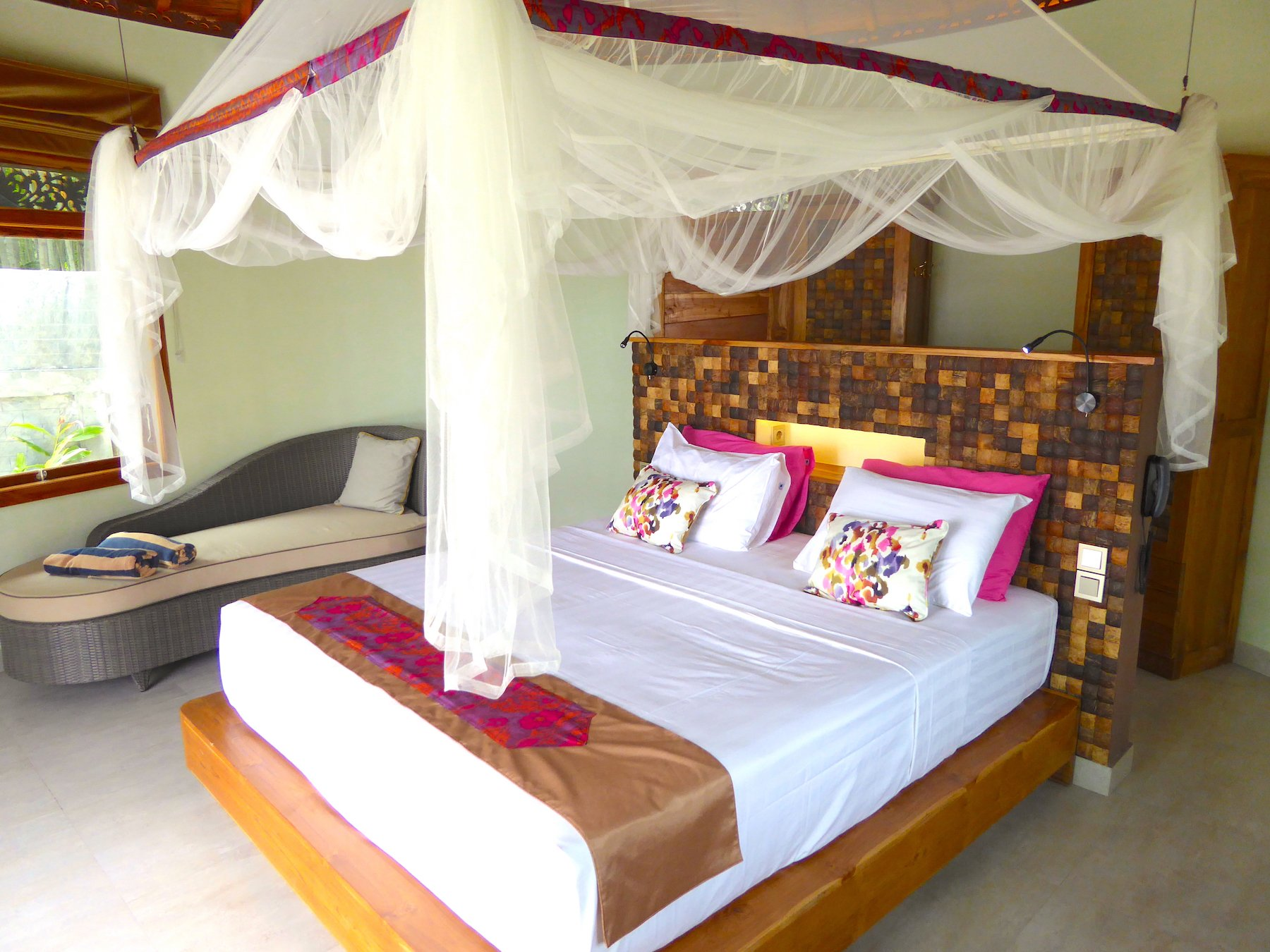 Puri Dajuma Cottages & Spa, Bedroom