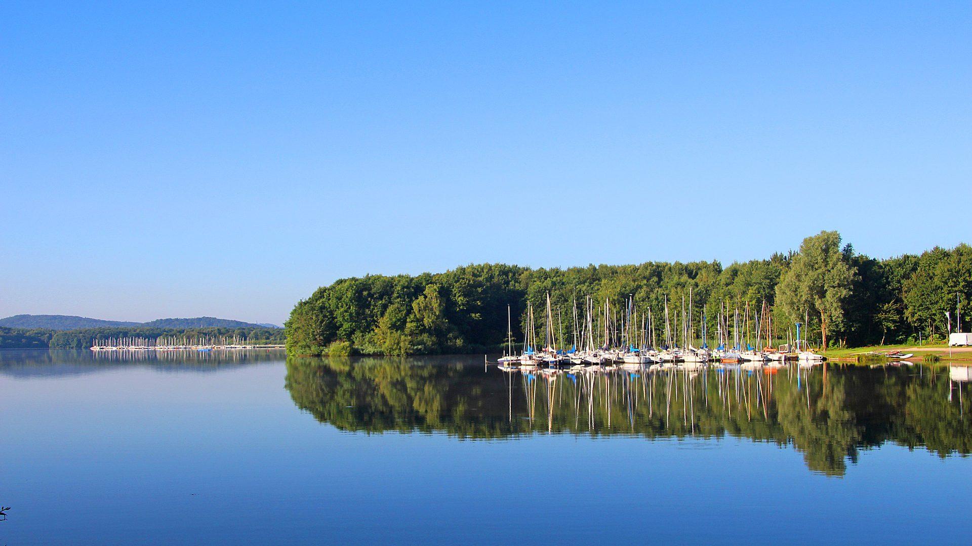 nature lake boats europe