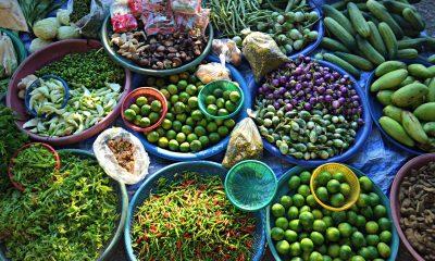 Frisches Gemüse Thailand