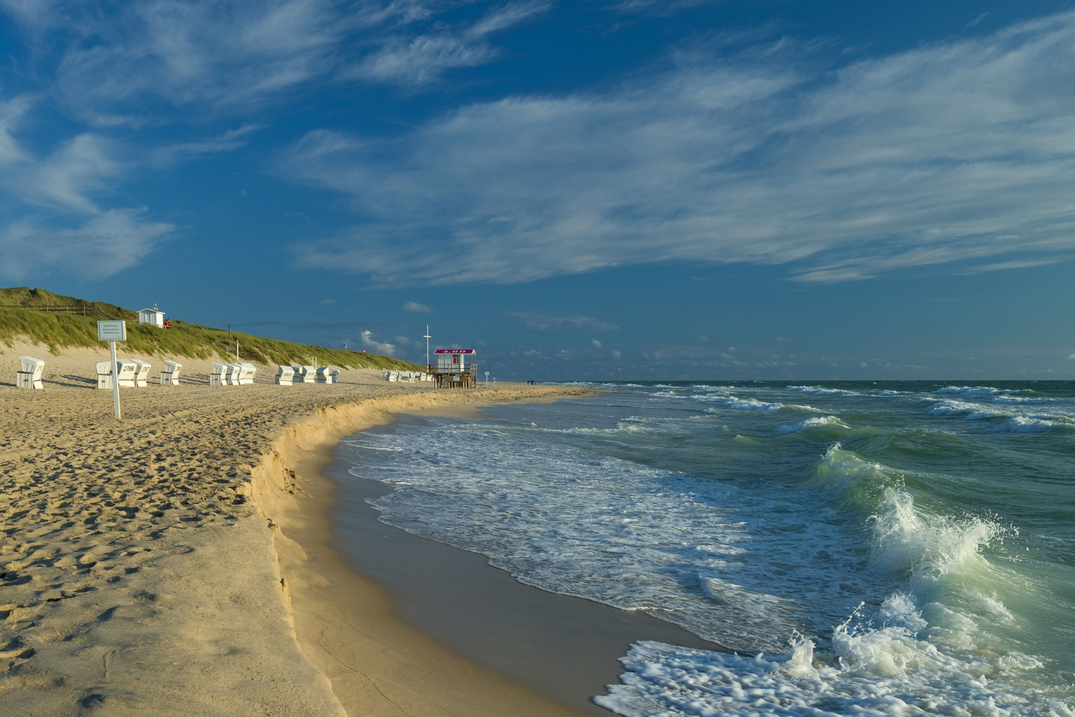 Beach at Westerland, Sylt