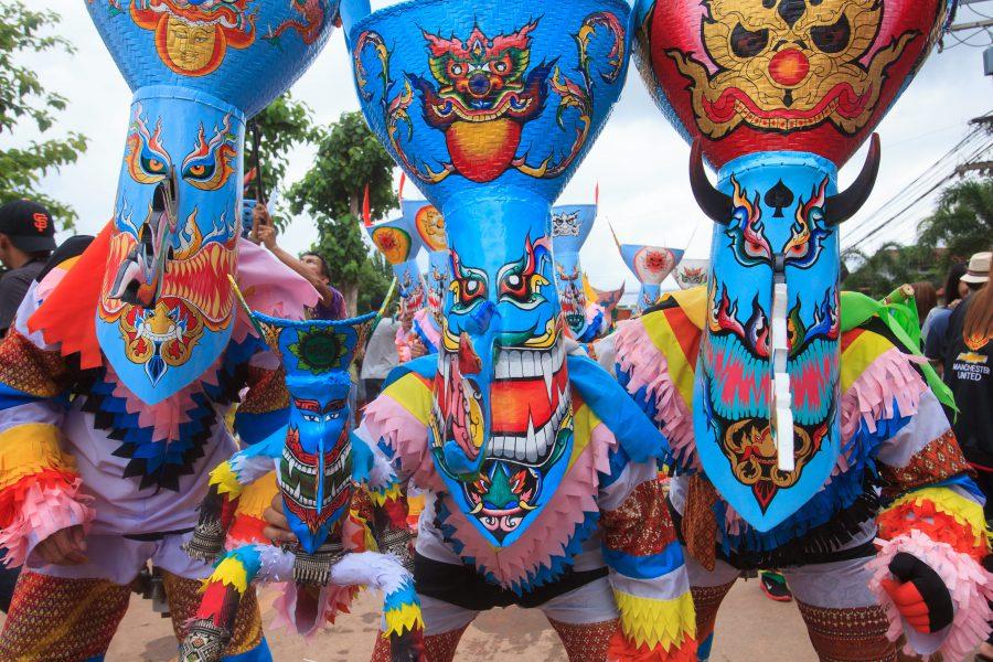 Phi Ta Khon Festival in Loei