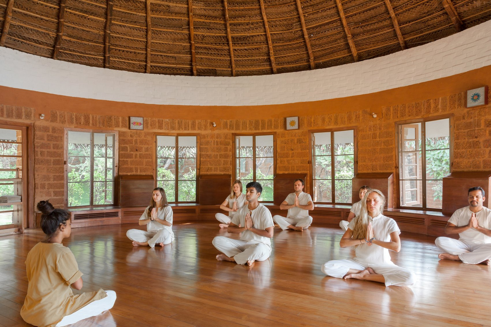 Yoga classes at SwaSwara, recreation at its best.