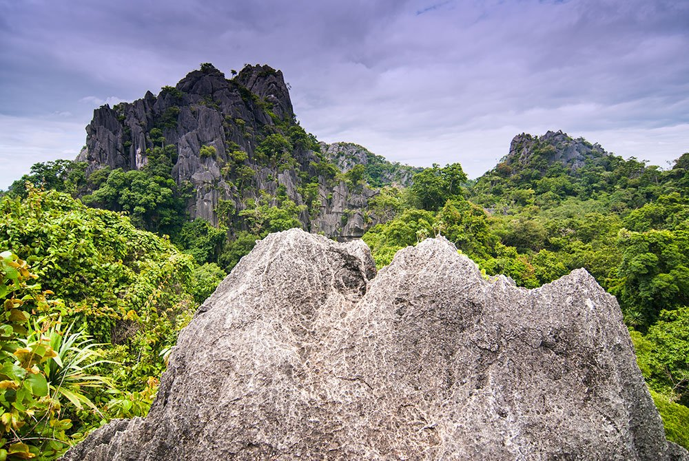 Der urzeitlich anmutende Nationalpark Suan Hin Pha Ngam © TAT