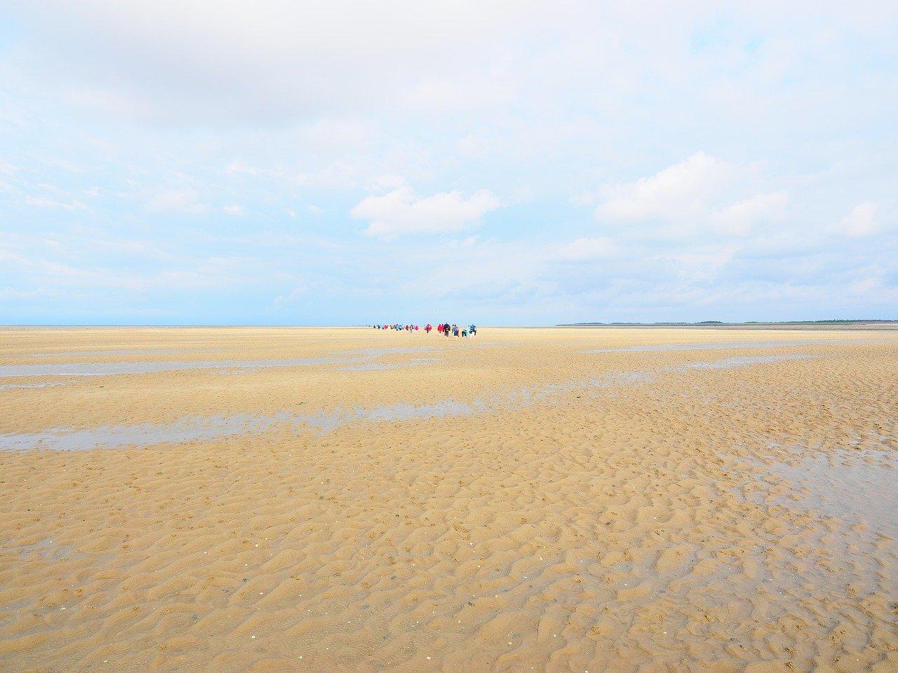 Das Wattenmeer rund um Juist