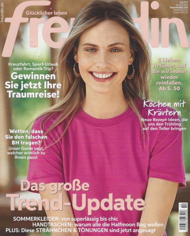 Cover der Freundin vom 23.4.18