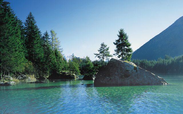 Bergsee im Berchtesgadener Land