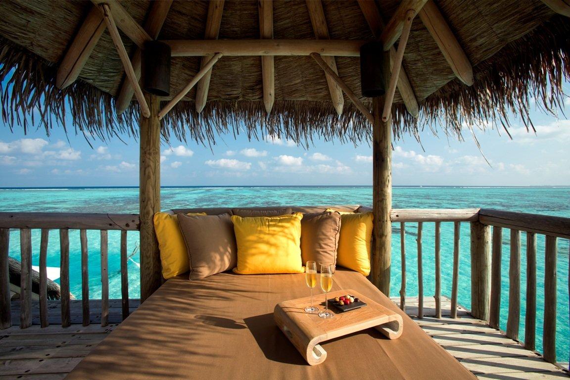 Gili Lankanfushi-Outdoor Bed