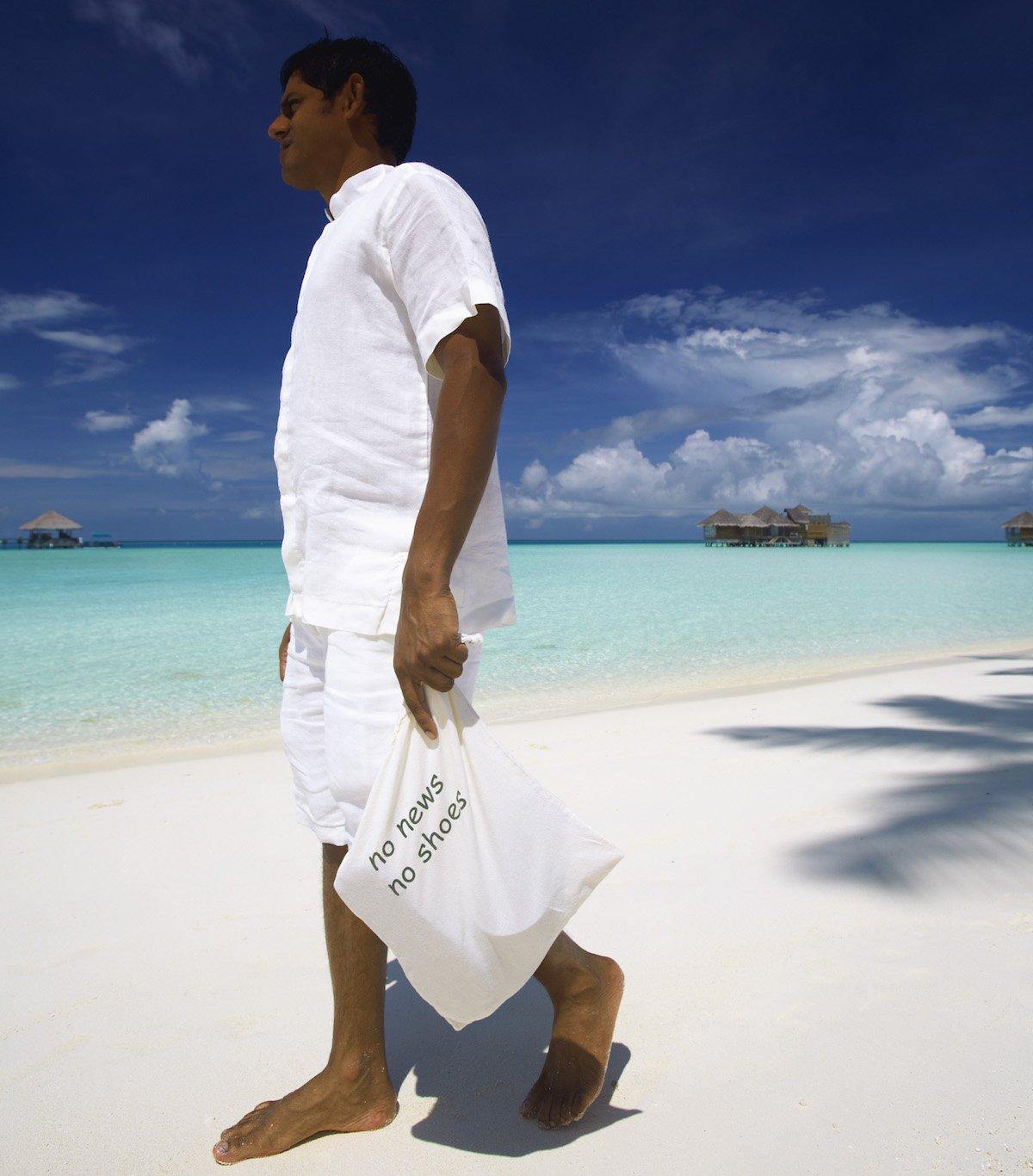 Gili Lankanfushi-No News, No Shoes