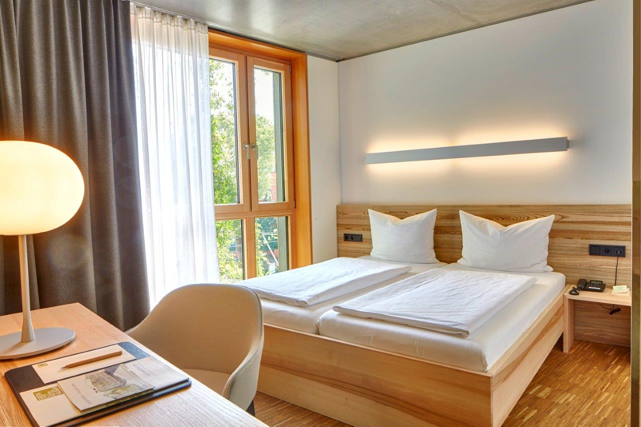 Green City Hotel Vauban-Bedroom