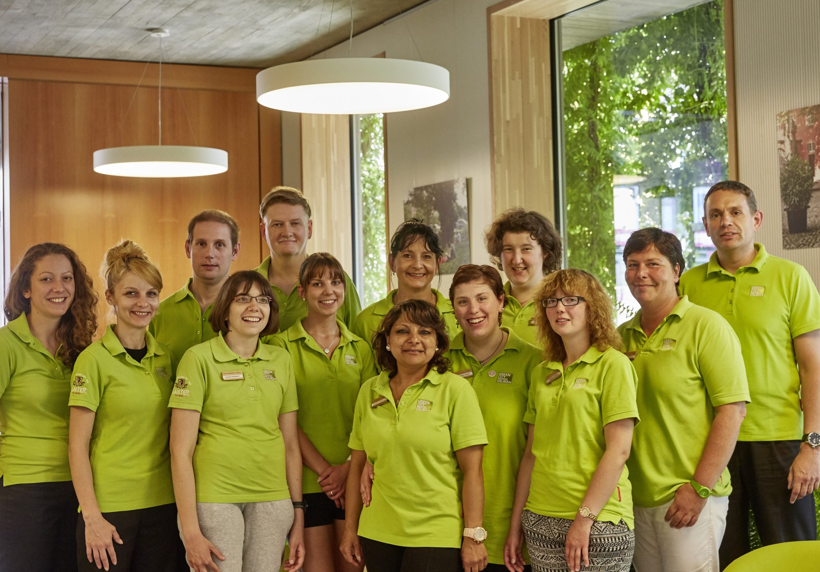 Green City Hotel Vauban-Staff