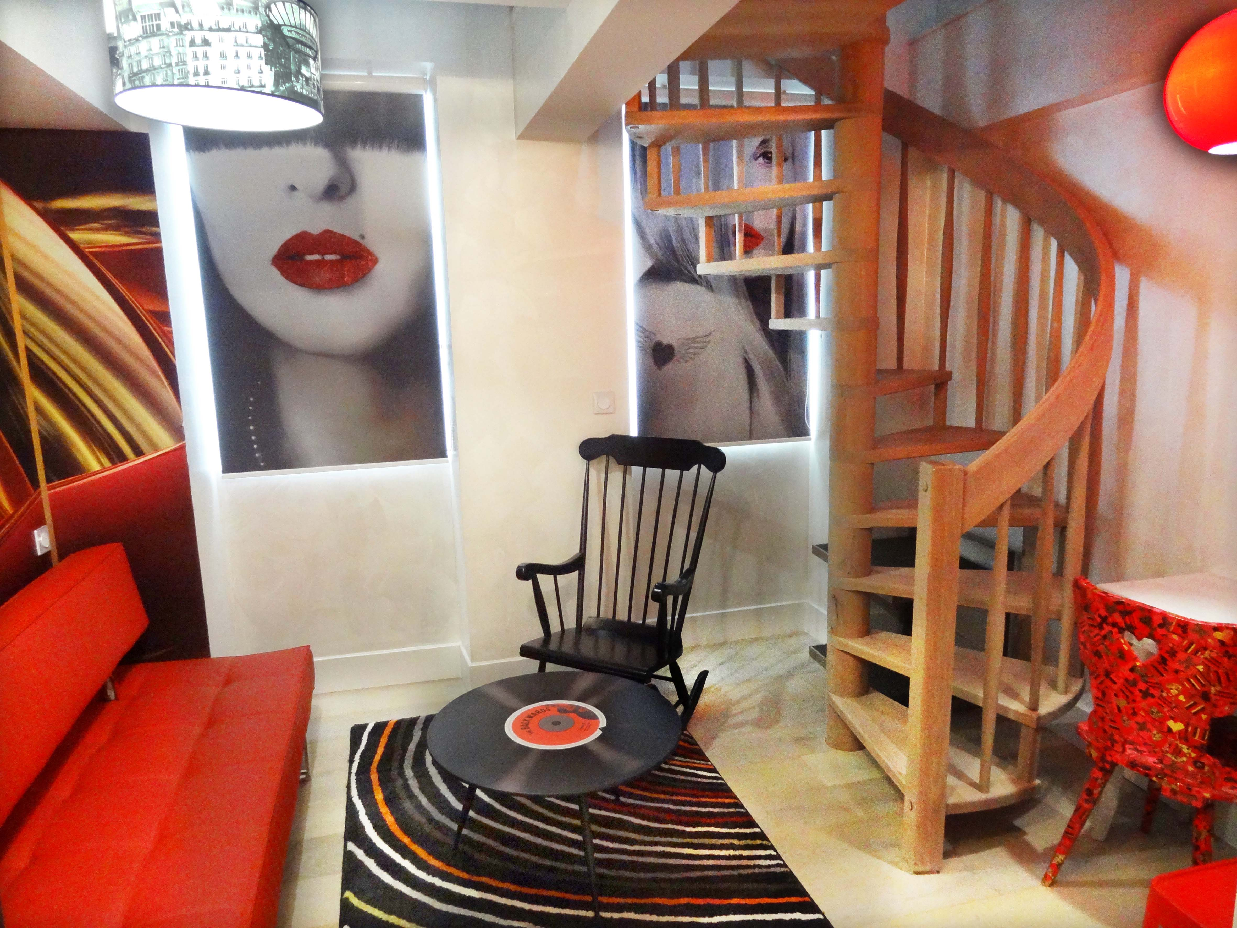 Hôtel Le Pavillon –Room