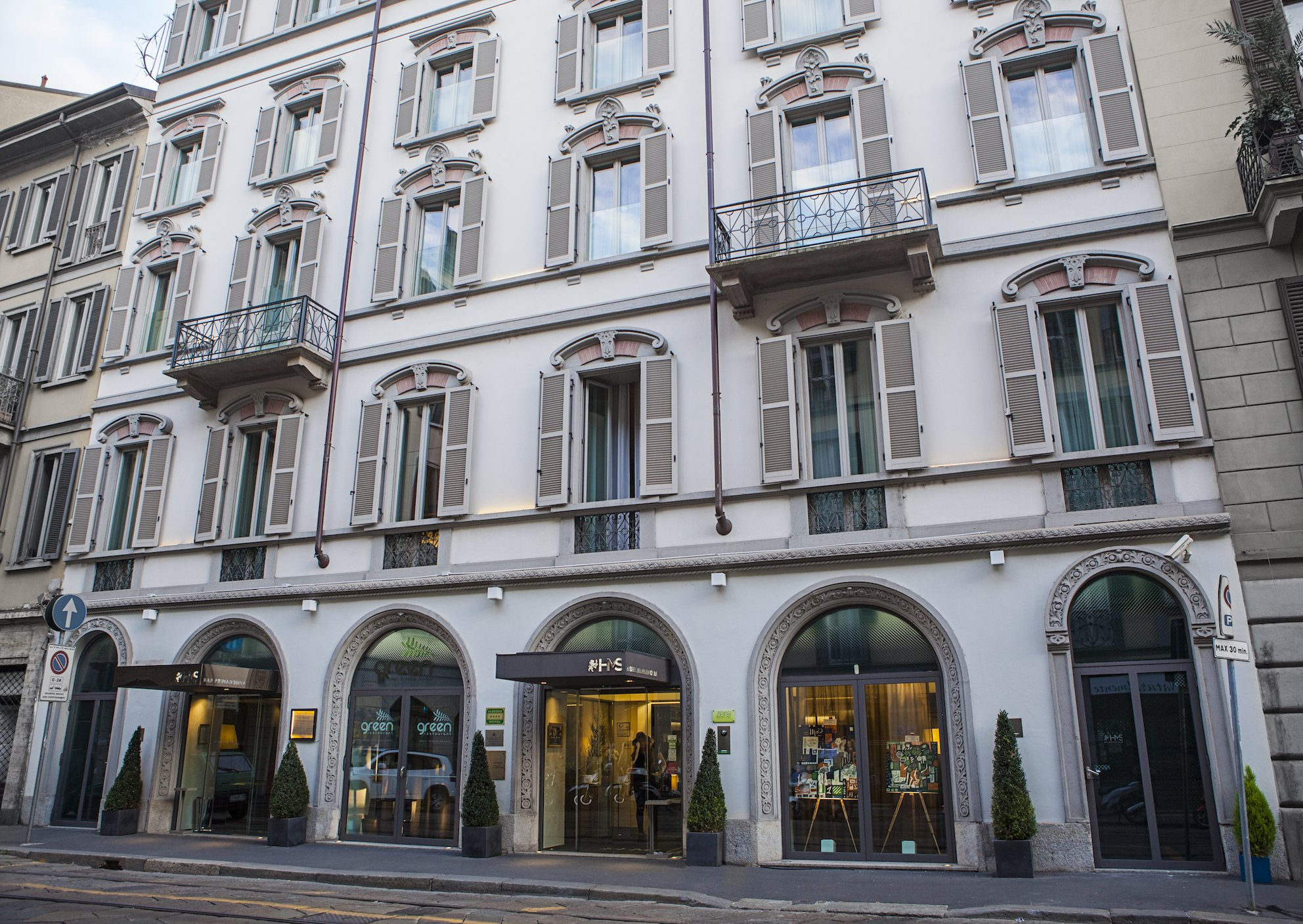 Hotel Milano Scala – Entrance