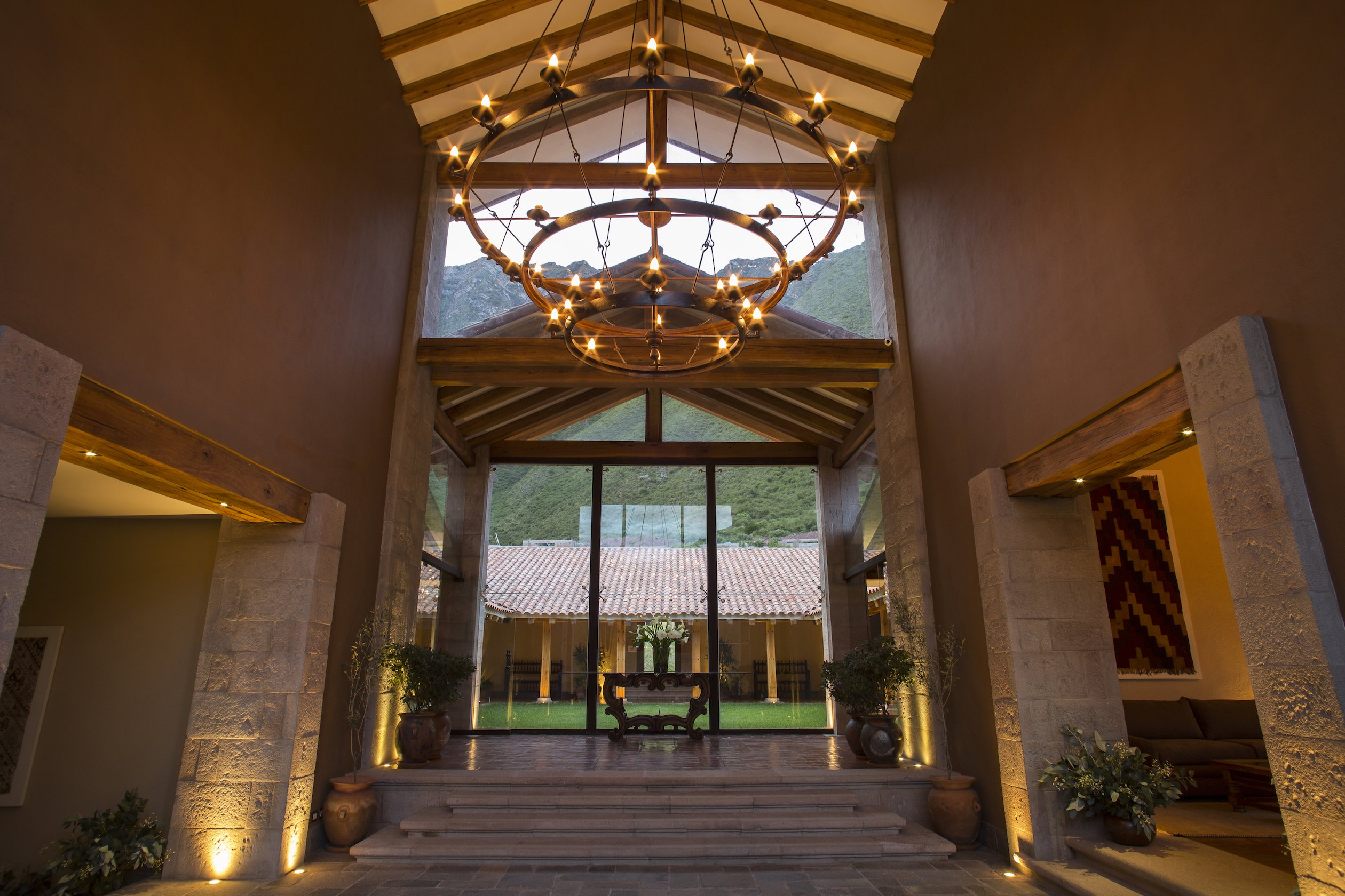 Inkaterra Hacienda Urubamba – Lobby