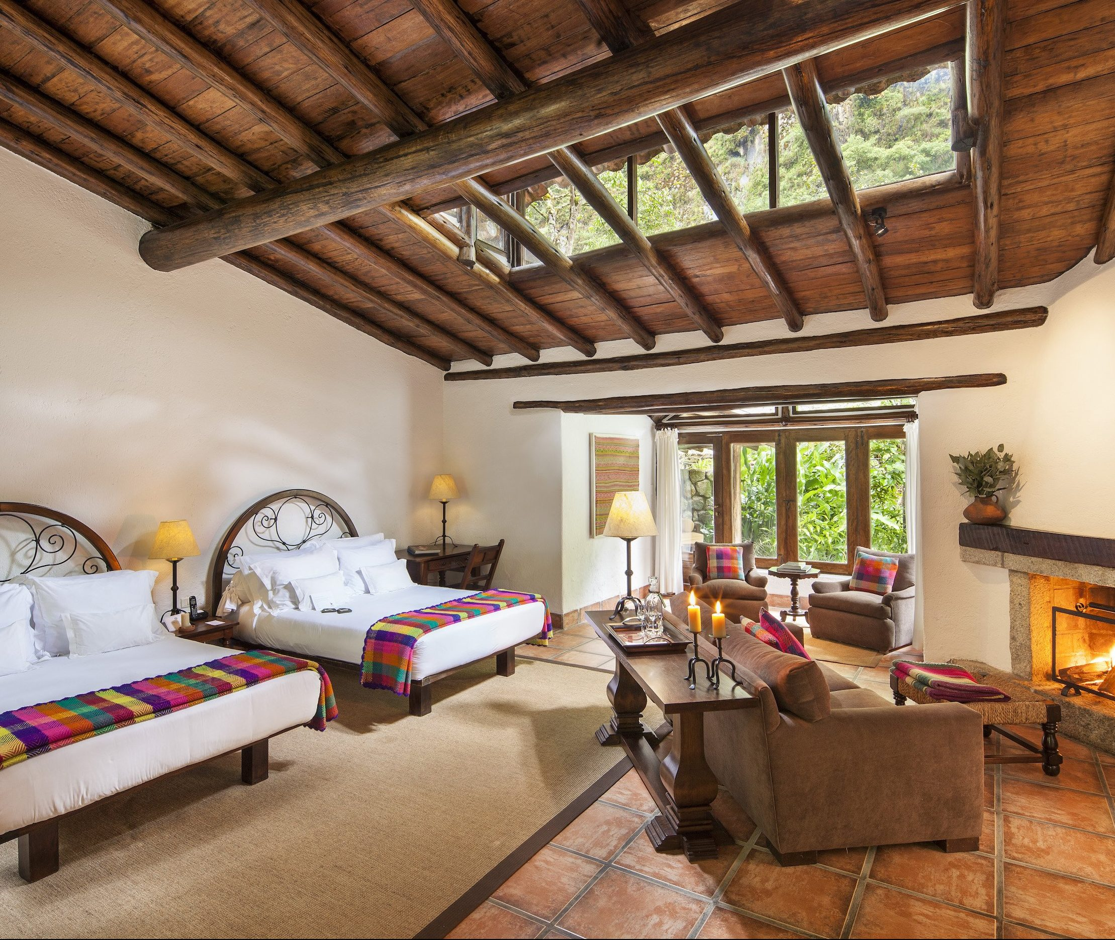 Inkaterra Machu Picchu Pueblo Hotel – Double Bedroom