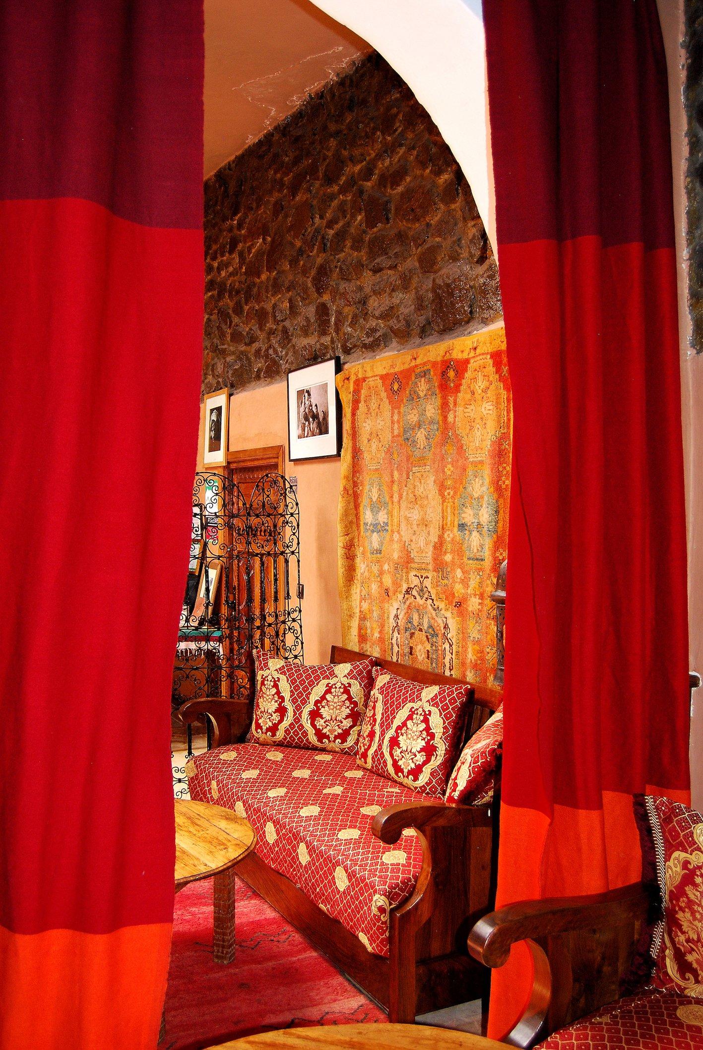 Kasbah du Toubkal Hotel – Lounge