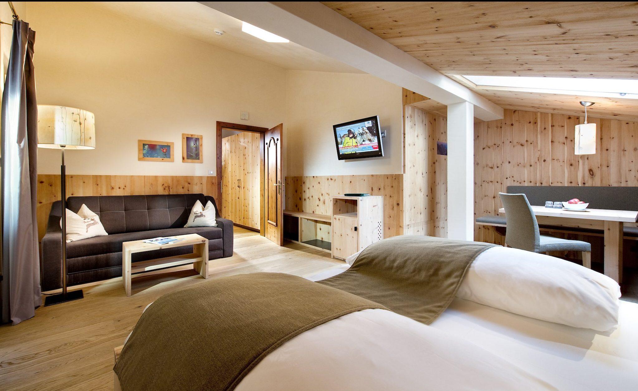 Leitlhof Dolomiten Hotel – Bedroom