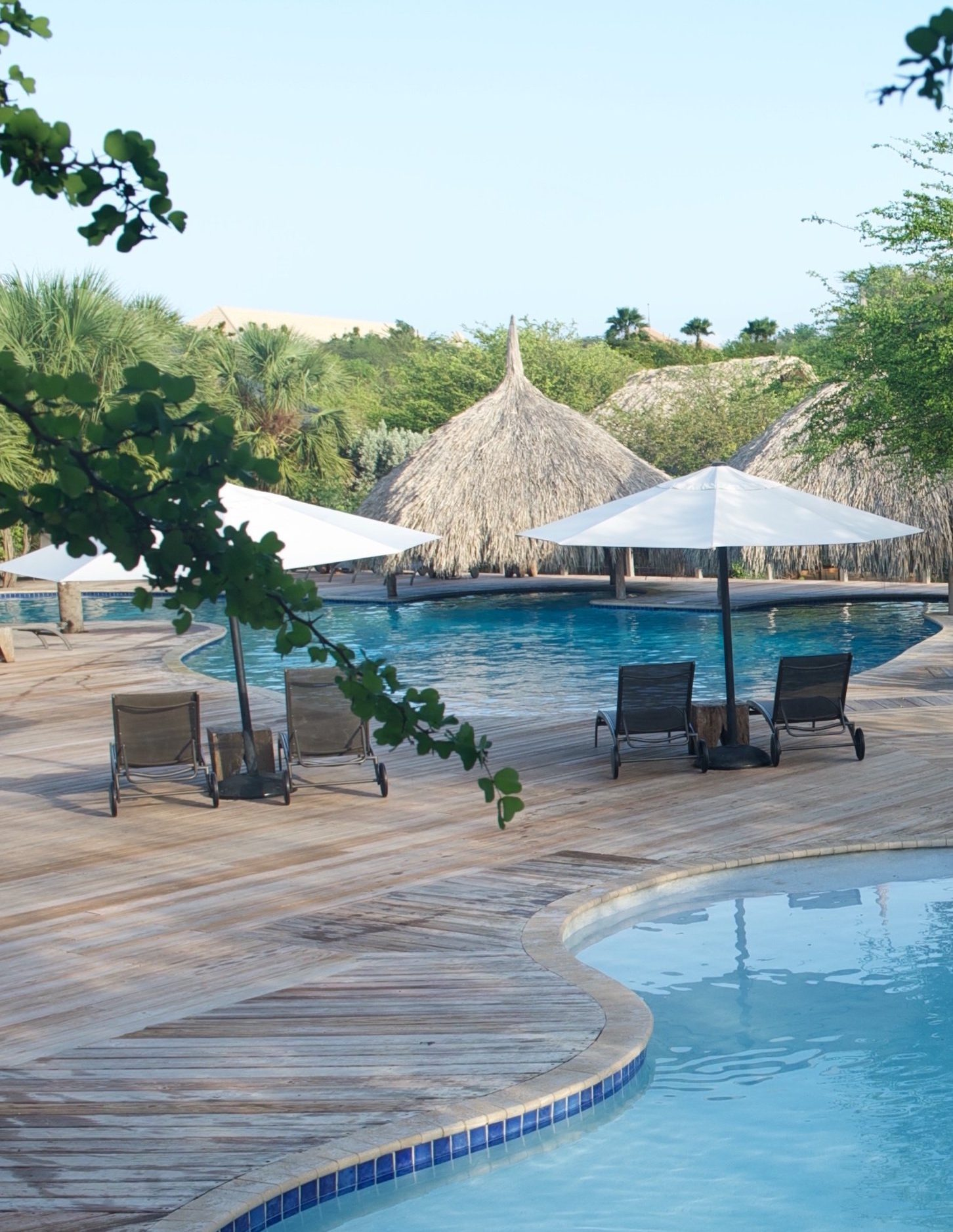 Morena Eco Resort – Pool Area