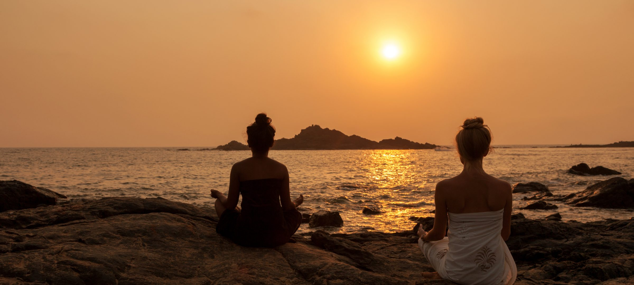 Meditation at the Om Beach