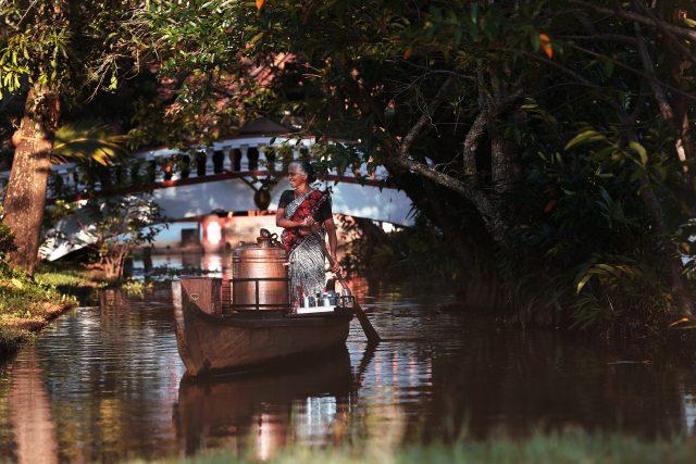 Tea Lady at Coconut Lagoon