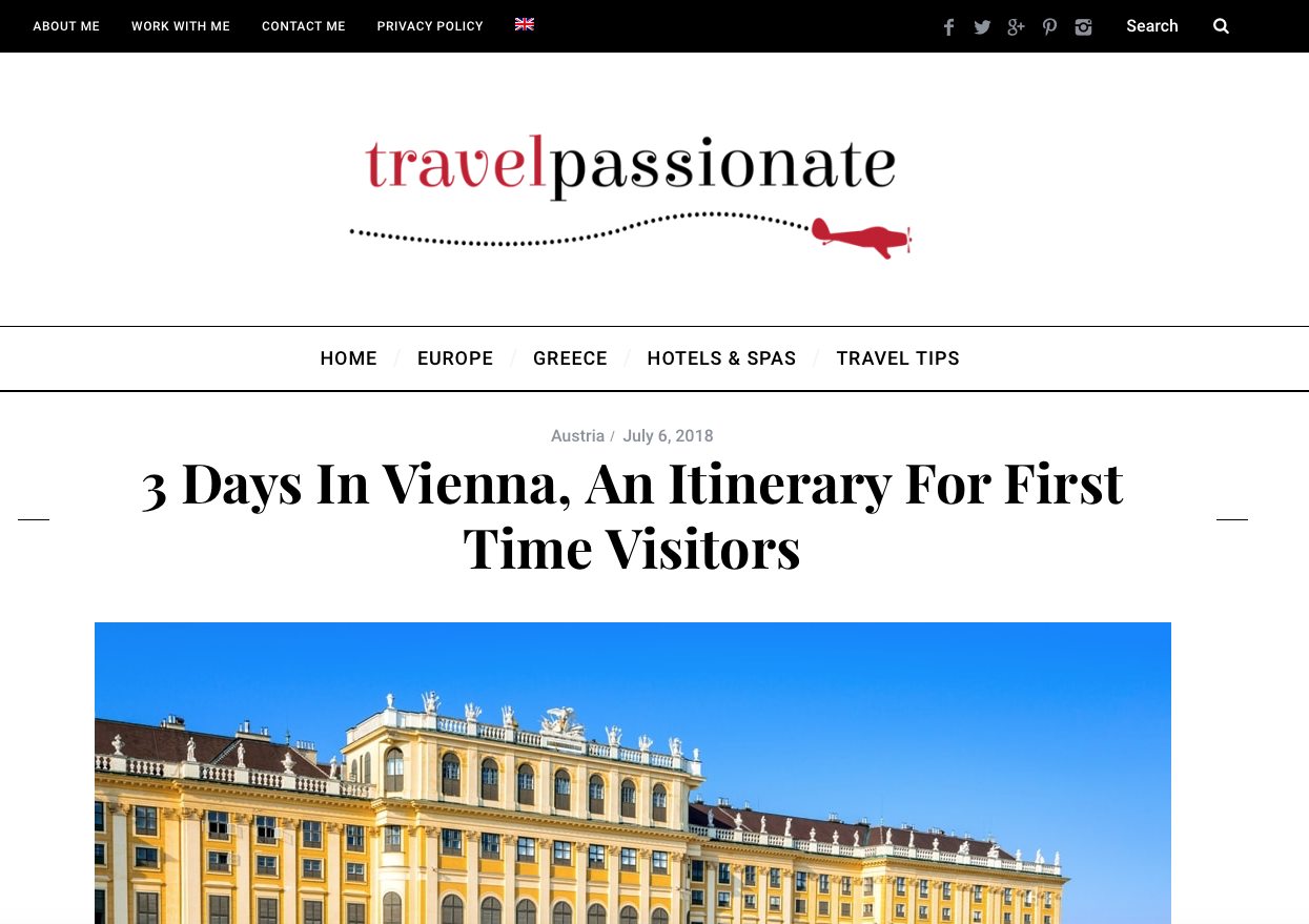 Screenshot Travelpassionate
