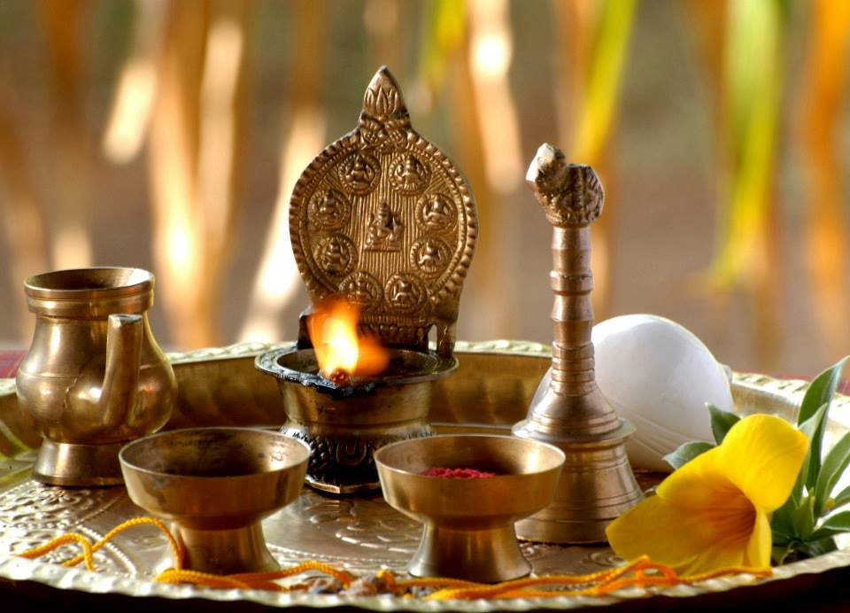Natural essences for traditional Ayurvedic treatments are used at SwaSwara.