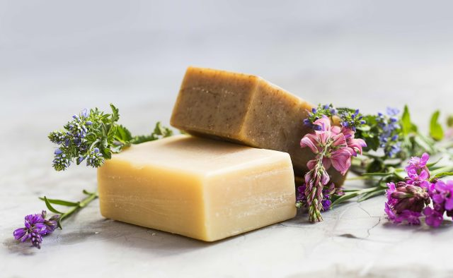 You can find regional manufactured soaps and natural cosmetics in Vienna.