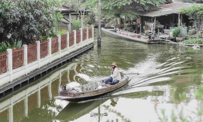 Koh Sarn Chao's channels in Bangkoks' north.