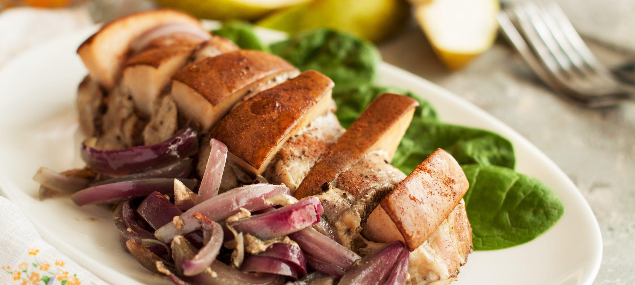 Selbstgemachte Slow Food Gerichte aus regionalen Zutaten auf Juist.