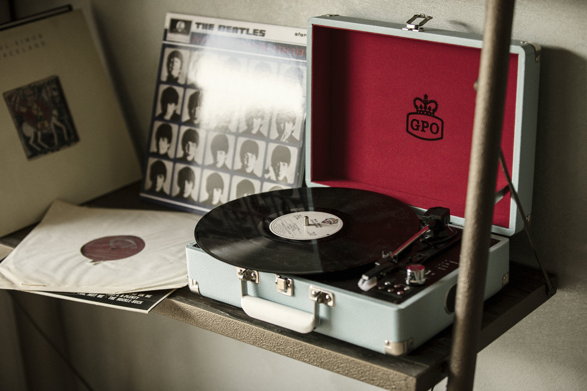 Every room at the Valsana Hotel und Appartements is equipped with a record player.