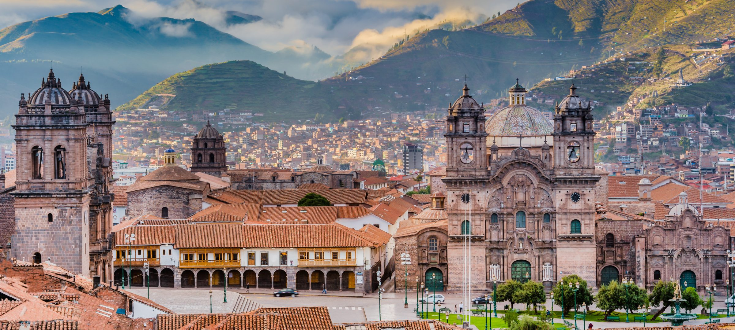 The historic city Cusco in the Andes, Peru, offers many green highlights for a sustainable city trip.