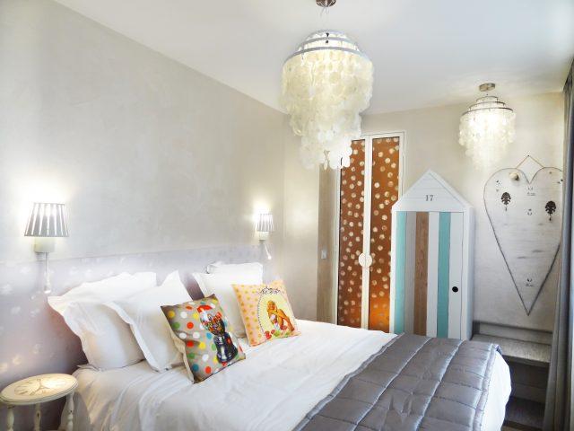 Strahlenfreies Zimmer im Hôtel Le Pavillon in Paris.