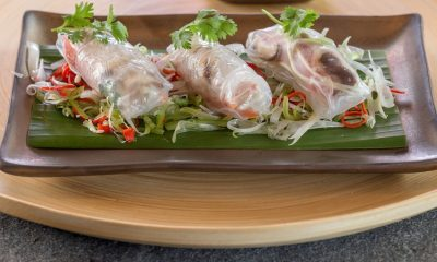 Vegan summer rolls from the Thai Keemala Resort. © Keemala