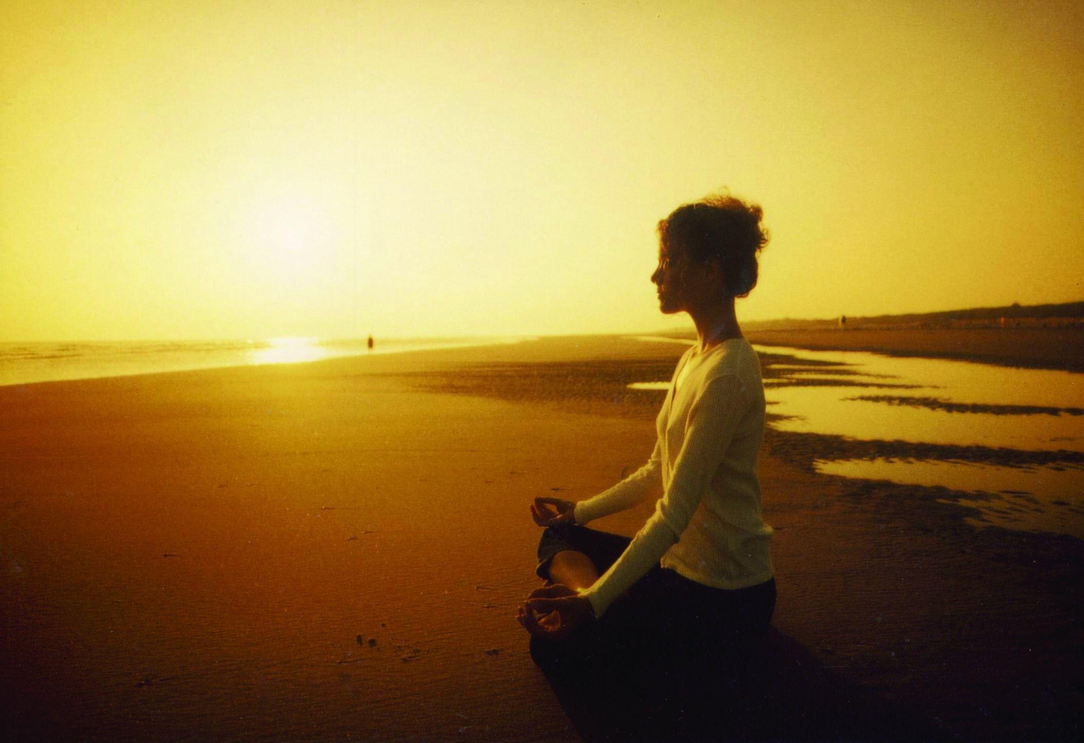 Yoga on the beach on Juist © Kurverwaltung Juist