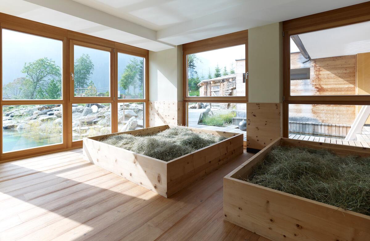 Hay bath / Heubad. © Arosea Life Balance Hotel