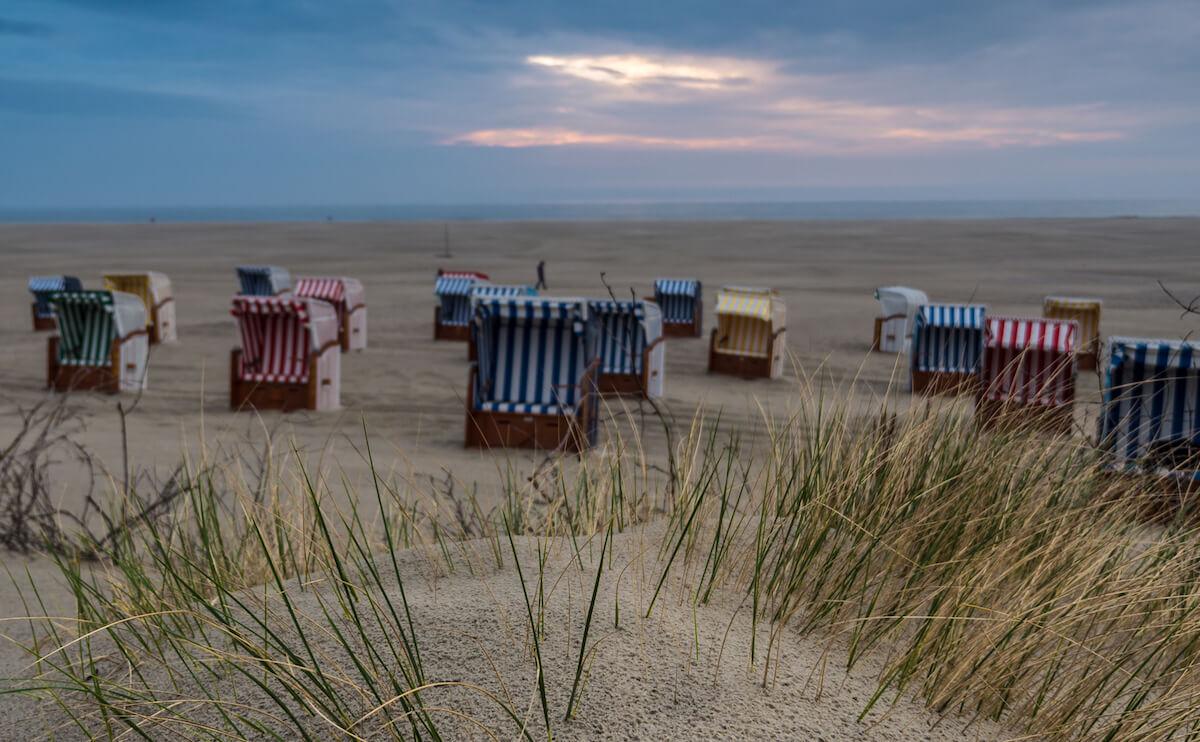 Strand auf Juist im Winter. © KV Juist