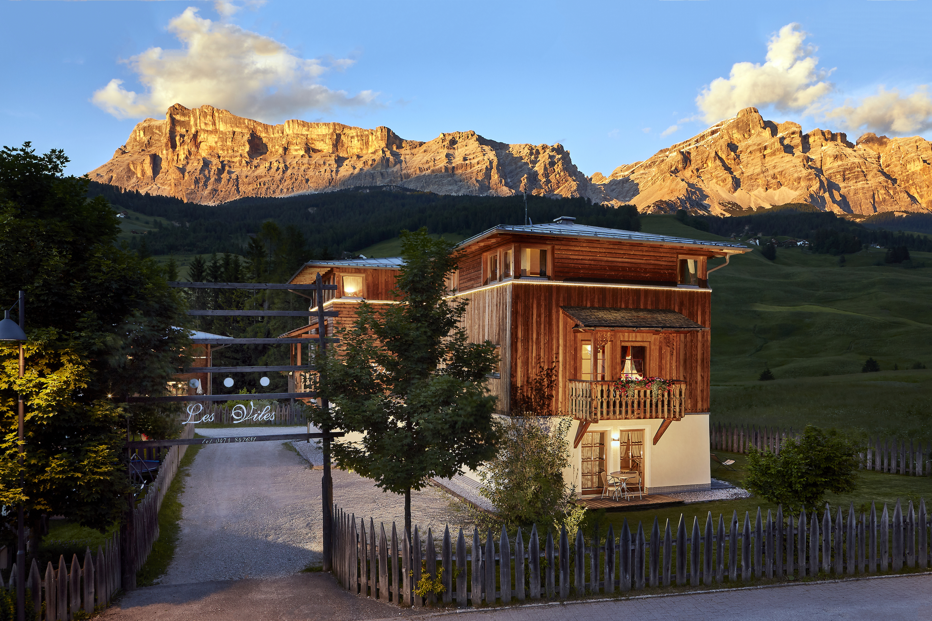 Vacation rental Les Viles in South Tyrol. © Dolomit Boutique Hotel